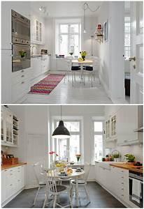 Des idees pour une cuisine scandinave ideeco for Idee deco cuisine avec meuble tv esprit scandinave
