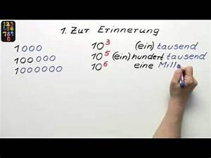 Wie Viele Löcher Hat Eine Frau : gro e zahlen richtig schreiben und sprechen mathematik ~ Lizthompson.info Haus und Dekorationen