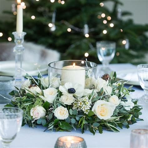 nordic table wreath   christmas  collection