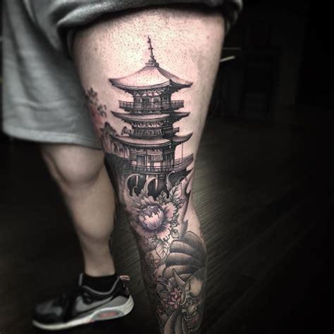 temple tattoo japon tattoo pinterest maison