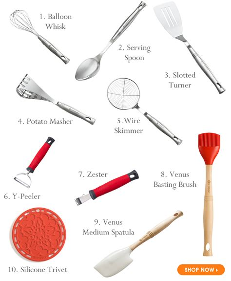 popular items for quality kitchenware le creuset small is beautiful our top 10 kitchen utensils