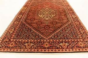 precieux tapis persan noue main persan bidjar authentique With tapis persan avec canapé convertible 175 cm