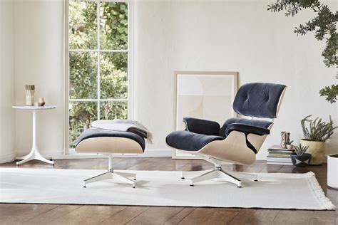 Eames Lounge Ottoman by Eames 174 Lounge Chair And Ottoman Herman Miller