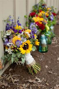 wildflower wedding best 25 beautiful flower bouquets ideas on