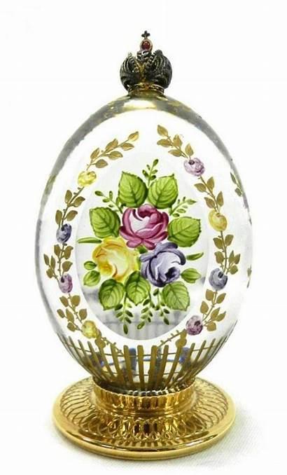 Faberge Egg Garden Rose Theo Petersburg St