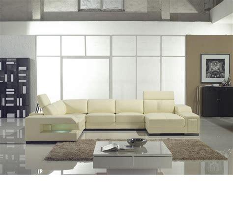 casa divani dreamfurniture divani casa t132 modern leather
