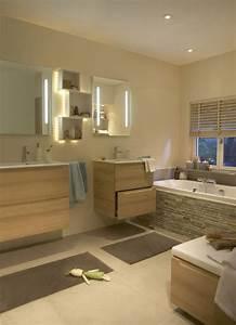 les couleurs tendance dans la salle de bains With salle de bain couleur chaude