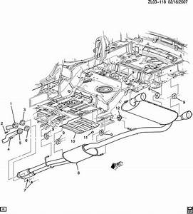Saturn Vue Exhaust Muffler  Resonator  Hanger  Insulator