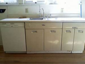 best 25 painting metal cabinets ideas on pinterest With how to paint metal kitchen cabinets