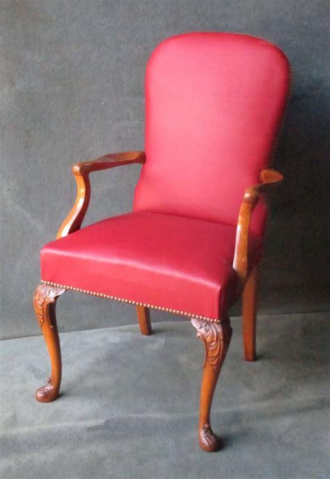Armchair Chair by Cabriole Leg Desk Chair Armchair In Mahogany C 1920