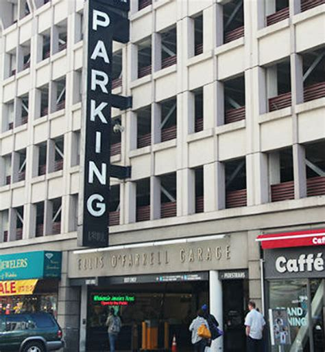 Ellis  O'farrell Garage  Visit Union Square Hotels