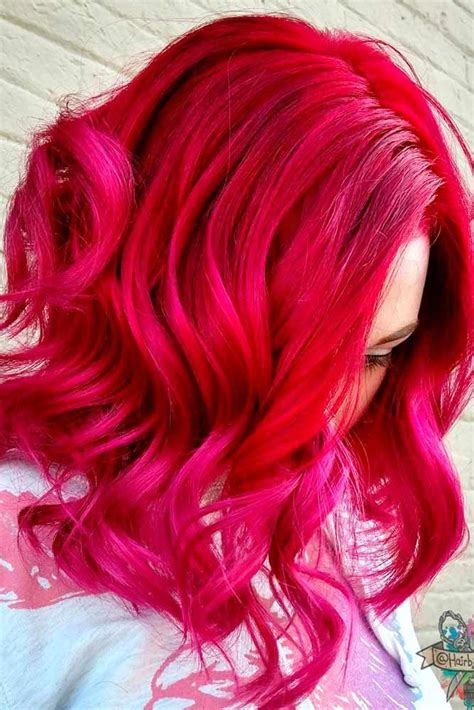21 Loveliest Magenta Hair Color Ideas Colored Hair