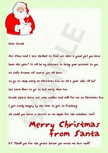 santa letters santa letters pinterest free letters With letters written by santa