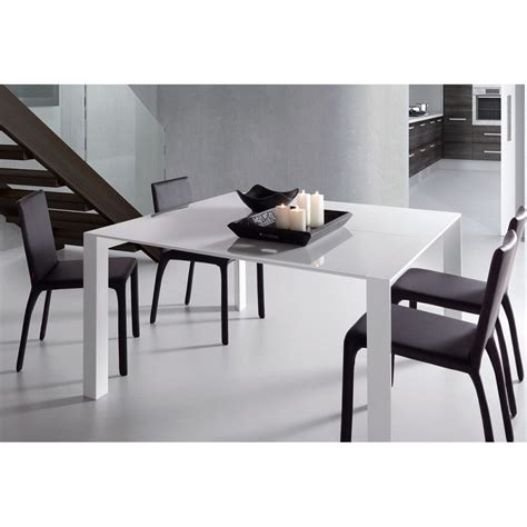 emejing table a manger blanche extensible gallery awesome interior home satellite delight us