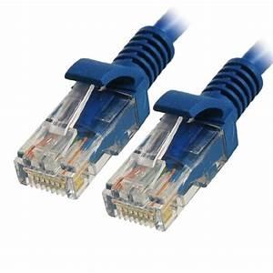 Cable Rj45 Cat 7 : 8ft 2 5m rj45 cat5 cat 5 lan network cable blue for ~ Melissatoandfro.com Idées de Décoration