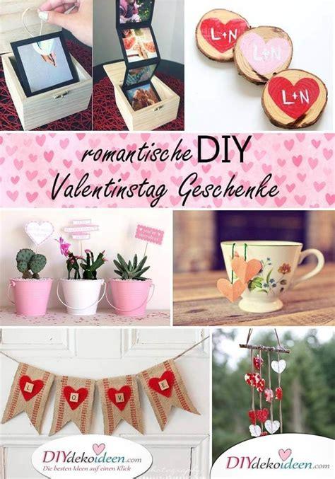 romantische diy valentinstag geschenke mit liebe gemacht