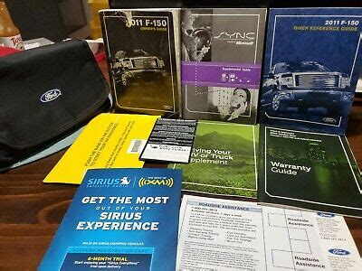 ford    owners manual set guide wcase xl xlt