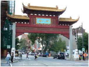 le quartier chinois de winnipeg montréal e voyageur