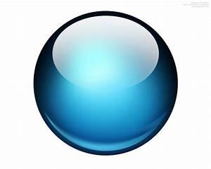 Glossy ball Photoshop icon | PSDGraphics