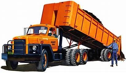 Trucks International Harvester Truck 1959 Dump Tandem