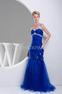 bridesmaid dresses royal blue royal blue mermaid sweetheart neckline wedding dress sang maestro