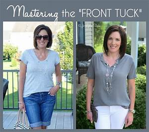 How to Front Tuck Your Shirt