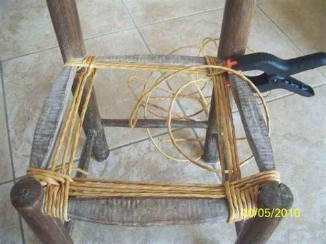 rempailler une chaise avec du tissu rempaillages atelier d 39 isa