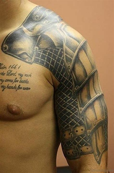 great armor tattoos  chest
