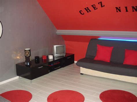 chambre en gris et blanc battement peinture chambre ado fille decoration deco