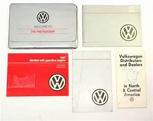 1987 Volkswagen Vw Jetta Owners Manual Book Mk2