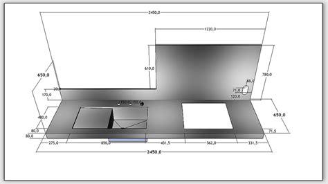 largeur plan de travail norme hauteur plan de travail cuisine fabulous agrandir plan de travail rglable en hauteur with
