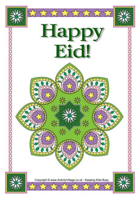 happy eid poster