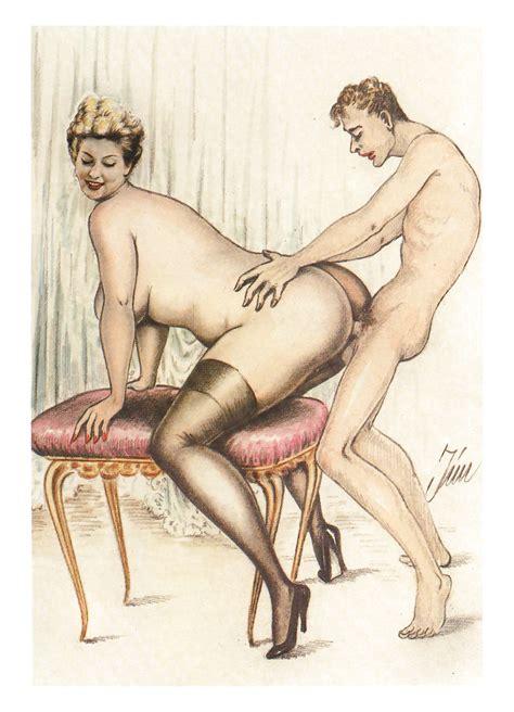 Art Toon Porno Erotic Drawings Hardcore Cartoons Vintage Bilder
