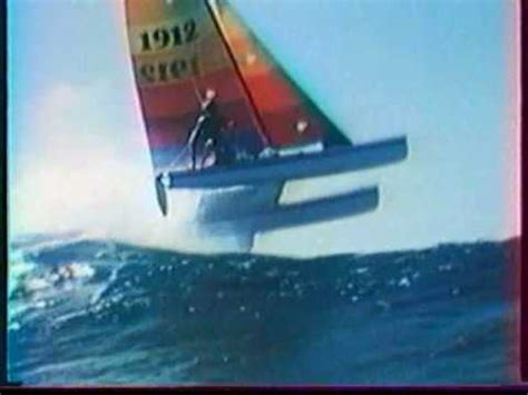 Catamaran Cat Meaning by This Hobie Cat 18 Takes A Nice Jump On A Big Wave