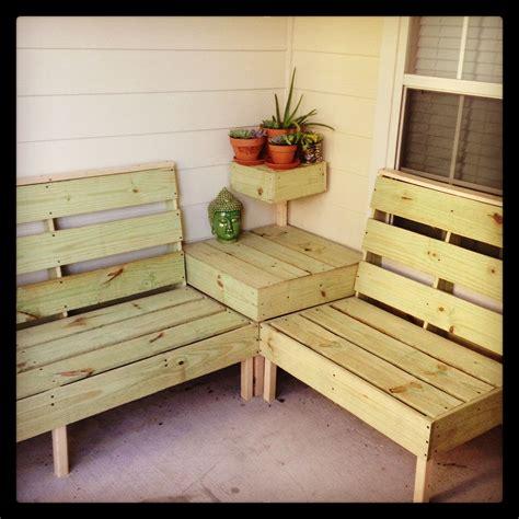 diy patio furniture       perfect size