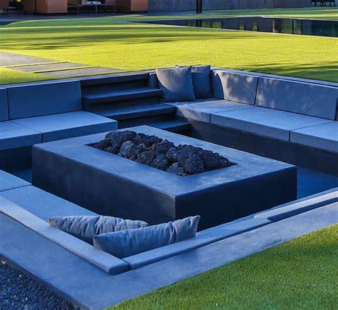 sunken pit designs backyard design idea create a sunken fire pit for entertaining friends contemporist