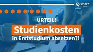 Studienkosten Als Werbungskosten : urteil studienkosten erststudium absetzen studienkosten ~ A.2002-acura-tl-radio.info Haus und Dekorationen