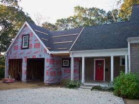 cape cod house plans with attached garage custom home construction and additions in eastham and wellfleet on the outer cape