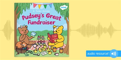 * New * Pudsey's Great Fundraiser Audio Book  Bbc, Bbc Children In Need