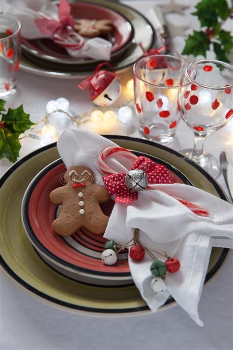 children table place setting stock