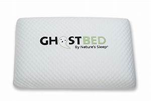 ghostpillow patent pending real time cooling aerated gel With best rated memory foam pillow