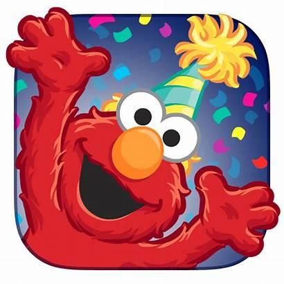 Elmo Clip Sesame Clipart Street Birthday Cliparts