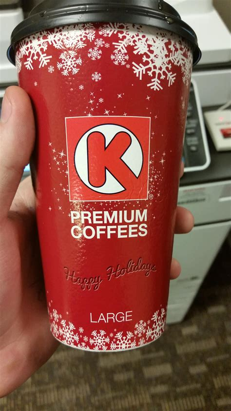 Simply great coffee is available at selected circle k locations. Circle K has the cups for everyone who's trippin about Starbucks cups. Go there if you want your ...