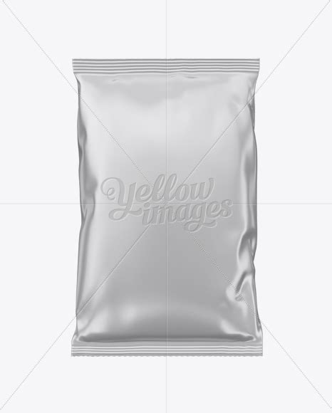 Apply your design on this awesome matte metallic snack package mockup. Matte Metallic Snack Bag Mockup - Matte Metallic Snack ...