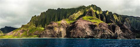 Napali Coast Panorama Kauai Hawaii Eric Bloemers