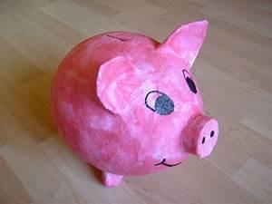 Sparschwein Aus Pappmache : die besten 25 spardose selber machen ideen auf pinterest spardose spardose basteln und ~ Orissabook.com Haus und Dekorationen