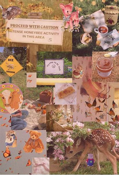 Cottagecore Wallpapers Aesthetic Farmcore Collage Animal Crossing