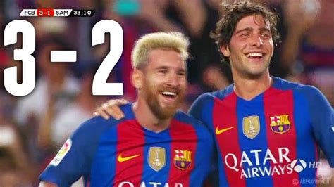 Vídeo: Barcelona - Sampdoria I Resumen y goles del Barcelona-Sampdoria - AS.com
