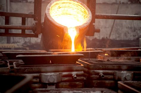 Steel Foundry Stock Photo - Download Image Now - iStock
