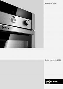 Neff Built In Multi Function Double Oven Hnf4600 Manuals